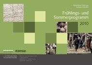und Sommerprogramm - Historischer Verein des Kantons St.Gallen