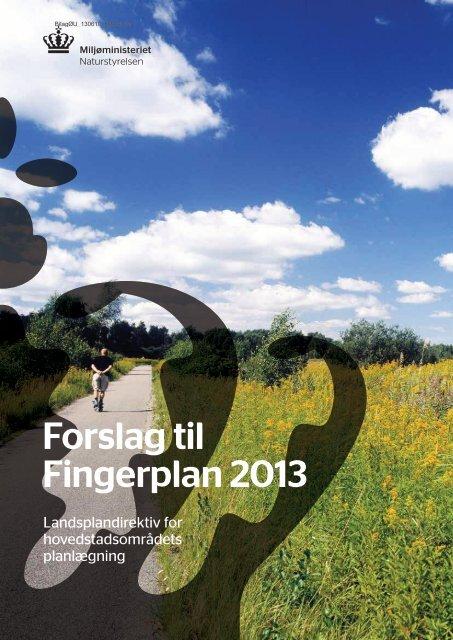 Forslag til Fingerplan 2013 - Landsplandirektiv - Hvidovre Kommune