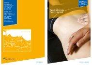 Sports Active leaflet - Heriot-Watt University