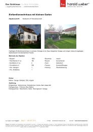 Einfamilienwohnhaus mit kleinem Garten