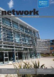 Network: Summer 2009 - Heriot-Watt University