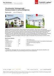 Neubauvorhaben in Lahnau-Waldgirmes