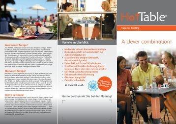 PDF-Download HotTable Flyer