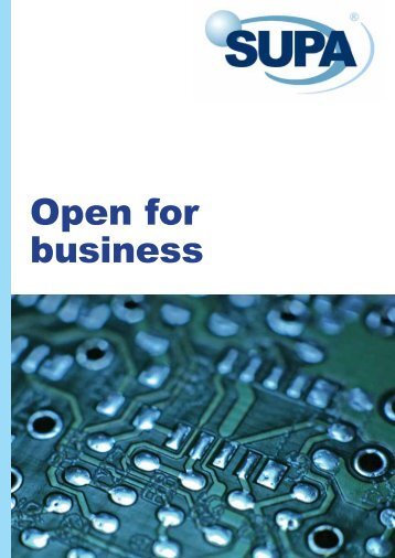 SUPA - Open for Business - Heriot-Watt University