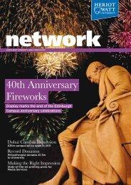 40th Anniversary Fireworks - Heriot-Watt University