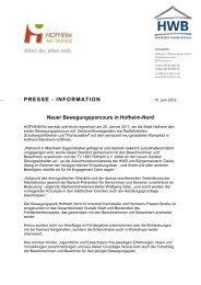 Pressemitteilung Neuer Bewegungsparcours in Hofheim-Nord