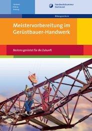 Meistervorbereitung Gerüstbauer Handwerk - Meisterschulen