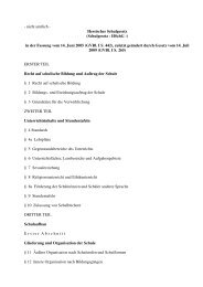 Hessisches Schulgesetz - Landeselternbeirat von Hessen