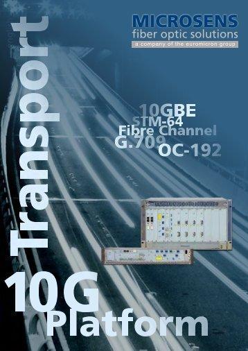 10G Optical Transport Platform