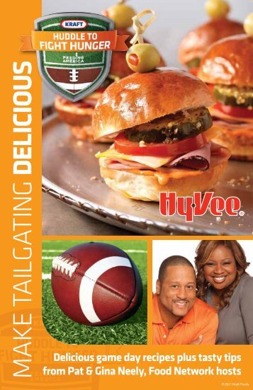 game day recipes - Hy-Vee