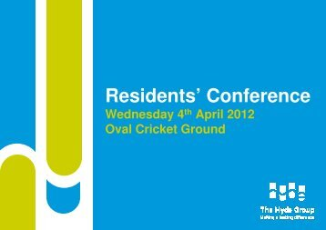 Residents' Conference - Hyde Housing Association