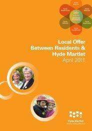 Local Offer Booklet Martlet - Hyde Housing Association