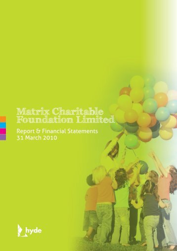 Matrix Charitable Foundation Limited - Hyde Housing Association