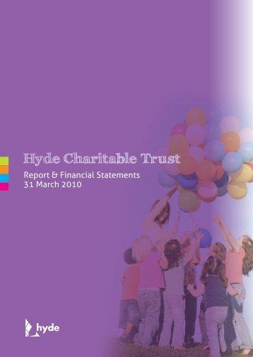 Hyde Charitable Trust - Hyde Housing Association