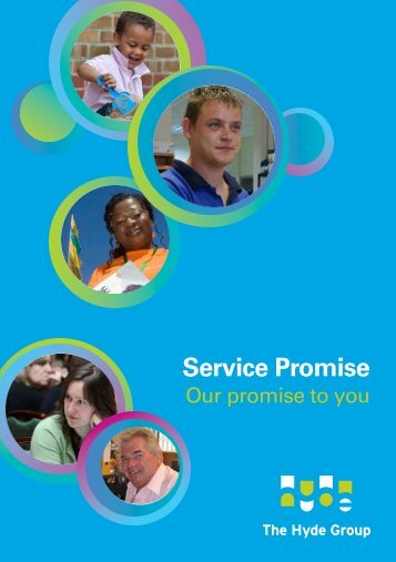 Service Promise - Hyde Housing Association