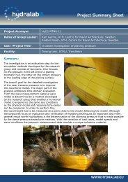 Project Summary Sheet