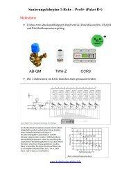 1-Rohranlagen - Profi B+ - Hydraulischer Abgleich