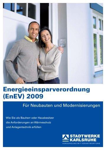 Energieeinsparverordnung (EnEV) 2009 - Hydraulischer Abgleich