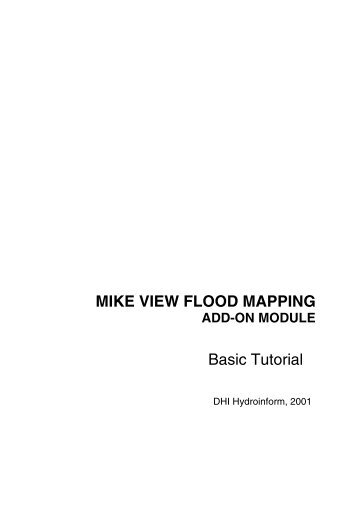 MIKE VIEW FLOOD MAPPING Basic Tutorial - HydroAsia