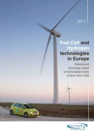 Fuel Cell and Hydrogen Technologies in Europe: Financial - FCH JU