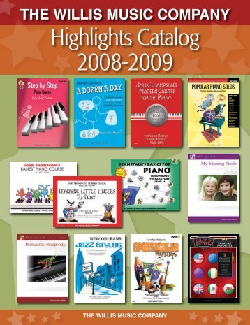 Highlights Catalog 2008-2009 - Hal Leonard
