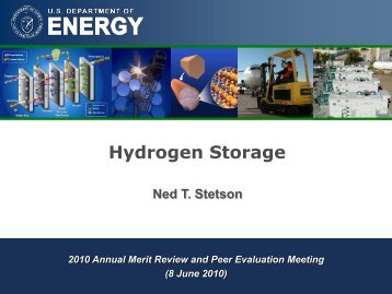 PDF 2.7 MB - DOE Hydrogen and Fuel Cells Program Home Page