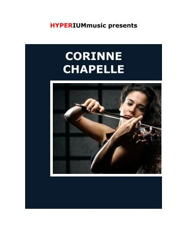 Corinne Chapelle - HYPERIUMmusic