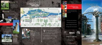This brochure is a guide to sculpture in - Riverfront Park