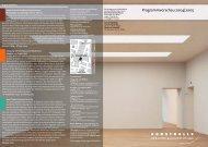 Programmvorschau 2004/2005 - Kunsthalle der Hypo-Kulturstiftung