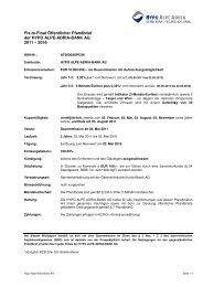 Fix-to-Float Öffentlicher Pfandbrief der HYPO ALPE-ADRIA-BANK ...