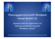 Presentation Windpark Hassel vom 25 01 10-10 m - Lichtenau