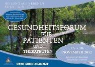 GesundheitsFORuM Patienten - Praxis-sacher.de