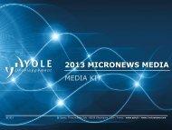 Media Kit - I-Micronews