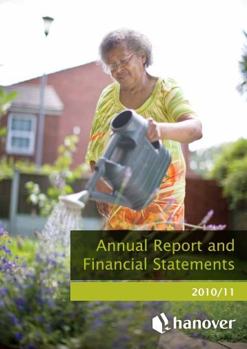 Annual Report and Financial Statements 2010/11 - Hanover