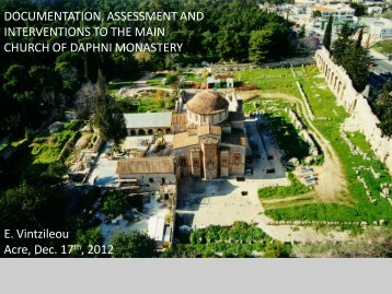 DOCUMENTATION, ASSESSMENT and INTERVENTIONS to the ...