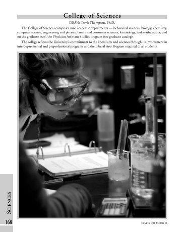 College of Sciences PDF - Harding University