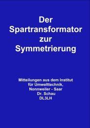 Spartransformator zur Symmetrierung - HAM-On-Air