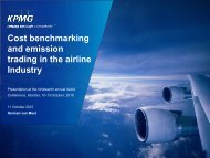 Cost benchmarking and emission trading in the airline Industry