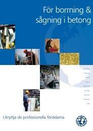 För borrning & sågning i betong - International Association of ...