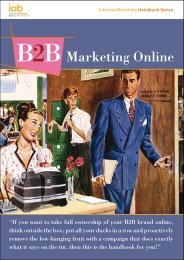 Marketing Online - IAB UK