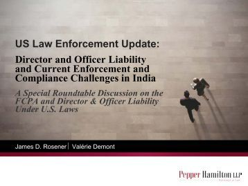 Download the the presentation on US Law Enforcement Update:A ...