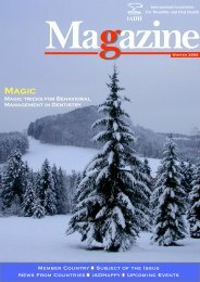 winter 2008 - International Association for Disability and Oral Health