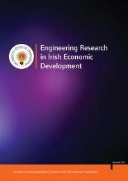 Engineering Research in Irish Economic Development
