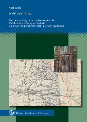 Wald und Krieg - GWDG