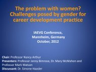 Download Presentation - IAEVG Conference 2012