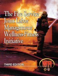 The Fire Service Joint Labor Management Wellness-Fitness ...