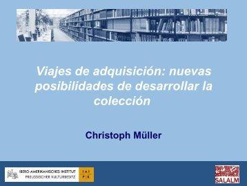 Viajes de adquisición: nuevas posibilidades de desarrollar la ...
