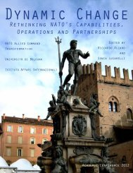 Dynamic Change. Rethinking NATO's Capabilities, Operations and ...