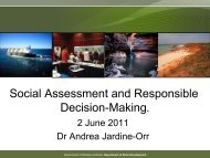 Presentation - International Association for Impact Assessment