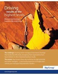 Download MSL brochure - Hay Group